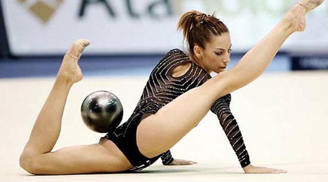 художественная гимнастика фото ню