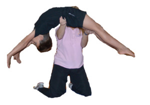Gymnastics safety flick flack