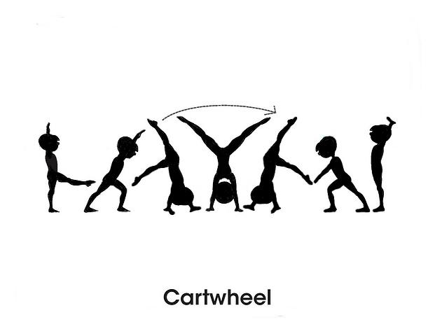how to teach an aerial cartwheel
